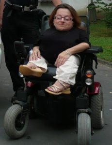 vozíčkářka Petra Moc Díky za auto